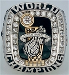 Miami Heat 2012 NBA Championship Ring 10k Gold w/Diamonds Made by Jostens *Accompanied by the Original Presentation Box*