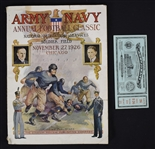 Vintage 1926 Soldier Field Program & Ticket