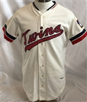 Rod Carew 1973 Minnesota Twins Game Used Jersey