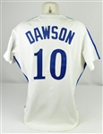 Andre Dawson 1981 Montreal Expos Game Used & Autographed Jersey w/Dave Miedema LOA