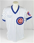 "Andre Dawson 1987 Chicago Cubs Game Used & Autographed ""MVP Season"" Jersey w/Dave Miedema LOA"