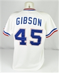 Bob Gibson 1983 Atlanta Braves Game Used & Autographed Coachs Jersey w/Dave Miedema LOA