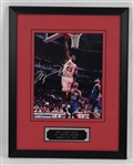 Michael Jordan Autographed & Framed #45 Action Photo