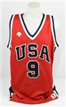Michael Jordan RARE 1984 Autographed Descente Team USA Olympic Jersey UDA