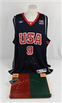 LeBron James 2004 Autographed Rookie Team USA Olympic Jersey UDA
