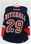 Johan Witehall 2000-01 New York Rangers Game Used Jersey w/Meigray Authentication