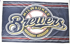 Milwaukee Brewers 2005 Oversized 34x58 Flag