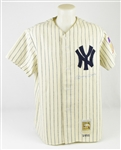 Mickey Mantle Autographed Mitchell & Ness 1951 Rookie Jersey UDA
