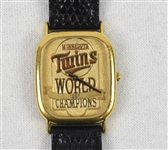 Minnesota Twins 1987 World Series Championship Watch Made by Jostens