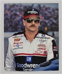 Dale Earnhardt Autographed 8x10 Photo