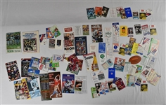 NFL Collection of Vintage Schedules
