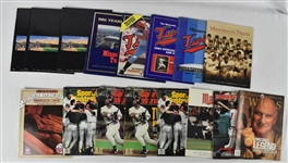 Collection of Minnesota Twins Programs & Magazines