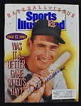 Ted Williams Autographed 1990 Sports Illustrated