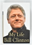 "Bill Clinton Autographed Hard Cover Copy of ""My life"" Book"