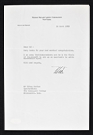 Ned Irish 1959 New York Knicks Signed Letter to Sid Hartman