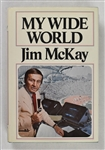 Jim McKay Signed & Inscribed Book to Sid Hartman