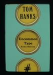 "Tom Hanks Autographed 1st Edition Hard Cover Copy of the Book ""Uncommon Type"""
